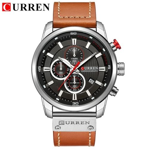 CURREN Chronograph # 8291 Brown