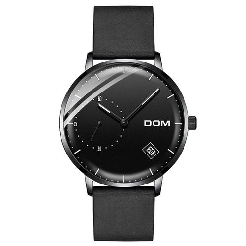 DOM M-302 Leather Black